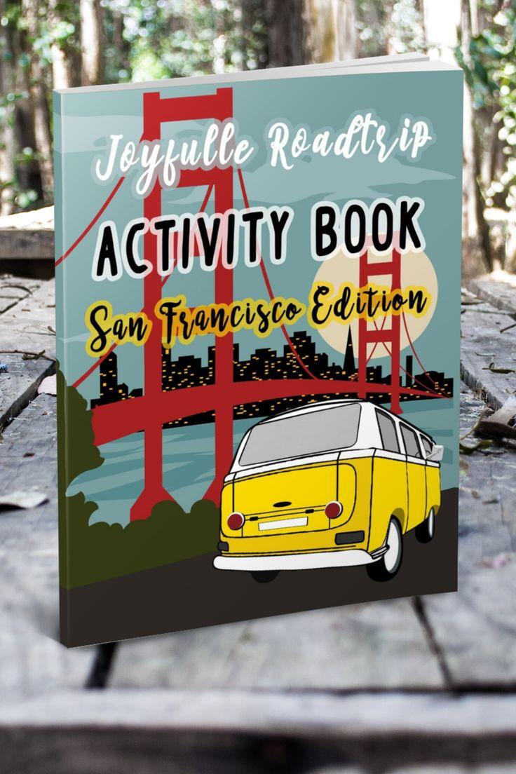 Joyfulle roadtrip activity book san francisco edition