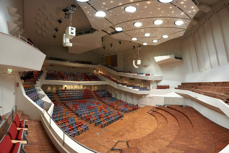 Sala de Concertos Grande Âmbar,© Merks Ltd
