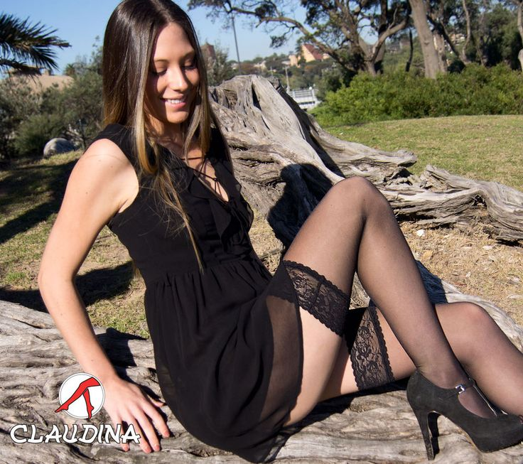Claudina Stay Ups thigh High Stockings Sexy Black $9.50 Buy two to get a free gift of $5.50