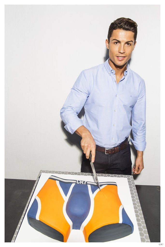 Cristiano Ronaldo Celebrates 1 Year Anniversary for CR7 Underwear image Cristiano Ronaldo November 2014 Photo 001