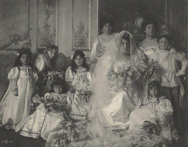 Helena ('Ena') Mathias (née Wertheimer) (The wedding of Ena Wertheimer and Robert Mathias). 1905