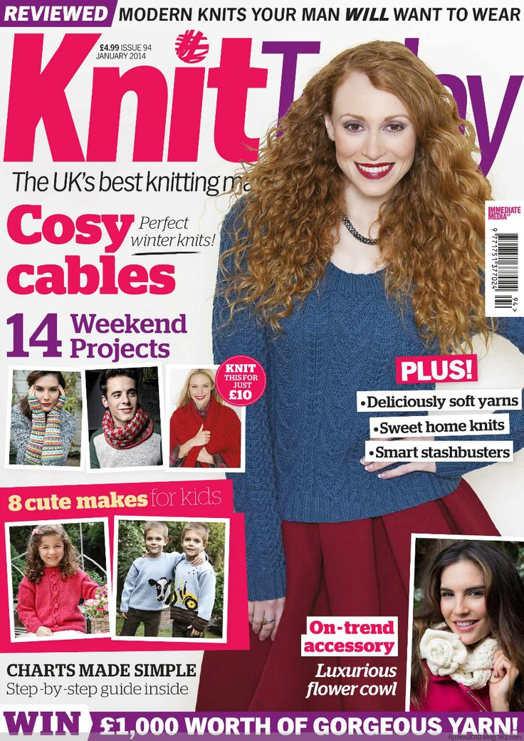 Knit Today Issue 94 2014 - 紫苏 - 紫苏的博客