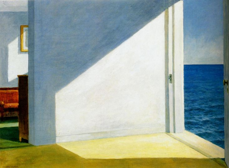"""""""Rooms by the sea"""" by Edward Hopper (1951)"""