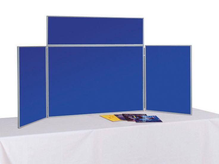 Junior Tabletop Display Board Inc Header And Carry Bag Pvc Frame
