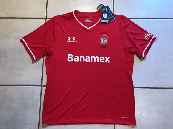 NWT UNDER ARMOUR Deportivo Toluca F.C. Mexico  Soccer Jersey Men's XL  | eBay