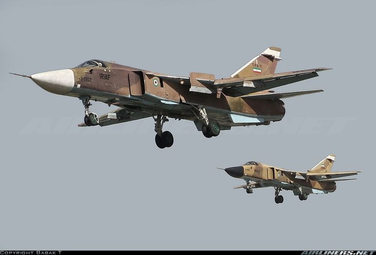 "Islamic Republic of Iran Air Force Sukhoi Su-24 ""Fencer"""