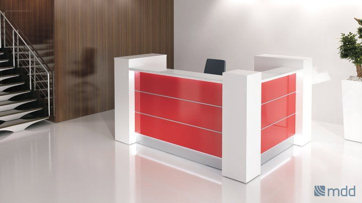 Valde  # reception desk. A good idea to change your office for spring.