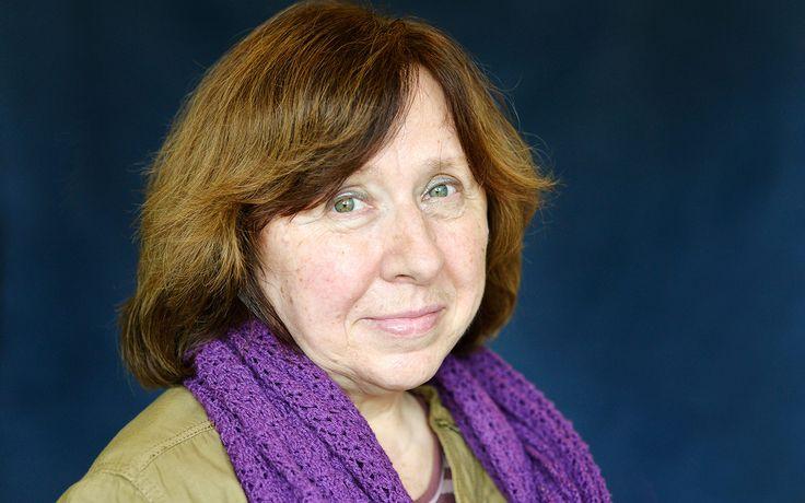 Svetlana Alexievich é a 14º mulher a vencer o Prêmio Nobel de Literatura