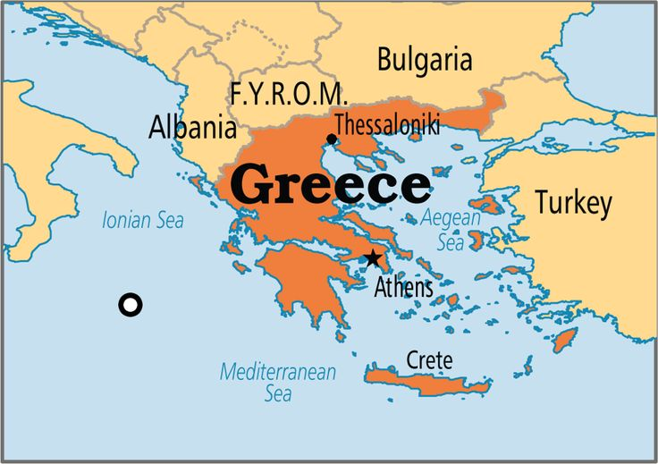 Image result for map of greece