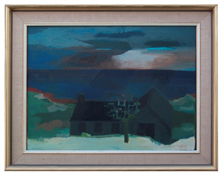 The Gate House | Oil on Canvas | 24 x 18 inches | £3,500 | from 1978