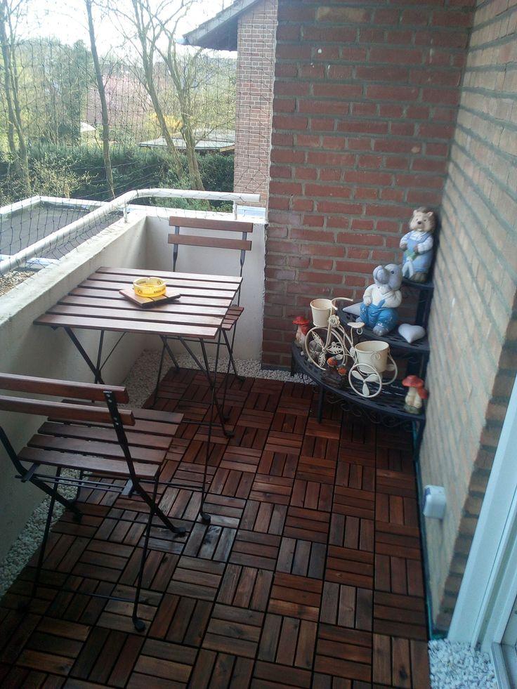 Balkon verschönern Bauanleitung zum selber bauen