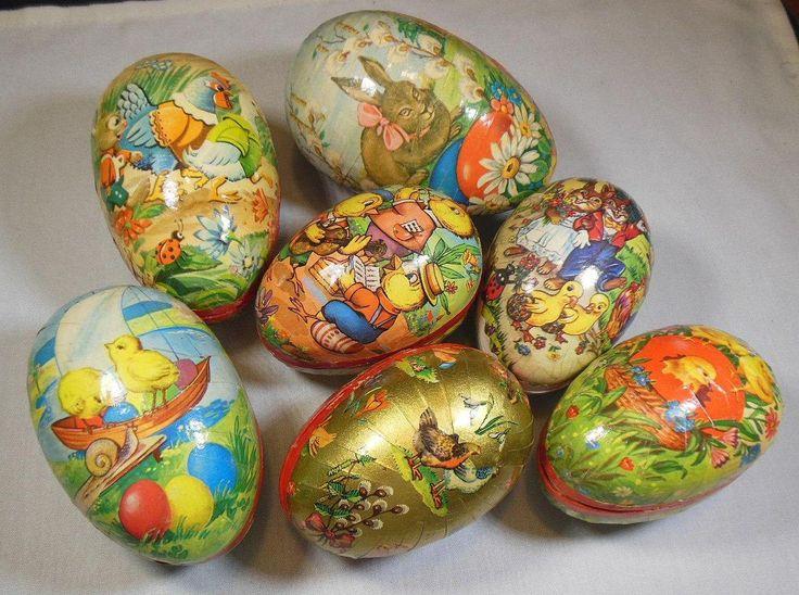 Les 10 Meilleures Images Du Tableau Vintage Easter Sur Pinterest P Ques Vintage Ufs De