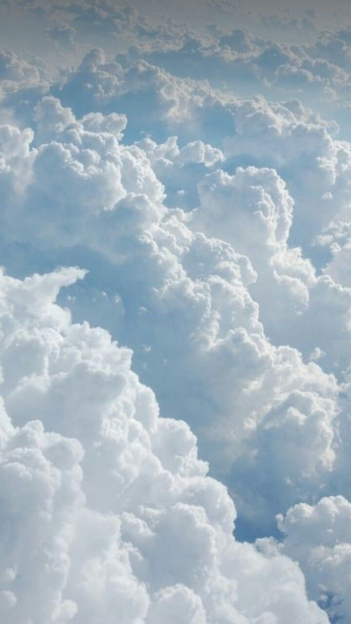 Soft Fluffy Clouds Light Blue Aesthetic Clouds