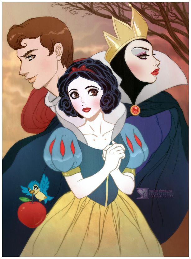 Disney Snow White | Image copyright daekazu . Used with permission.