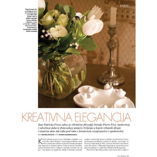 Časopis ELLE DEKOR, broj 9 ❤ liked on Polyvore