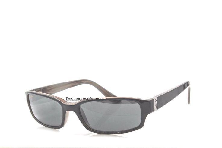 MAUI JIM Atoll MJ 220 02 Gloss Black Gray Polarized Sunglasses AUTH NWC MJ220 #MauiJim