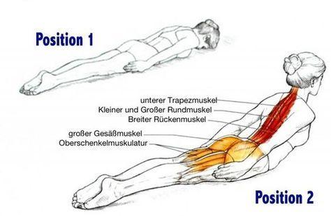 Mit dieser einfachen Übung, nur 3-mal die Woche, kannst du deine Rückenschmerzen endlich loswerden