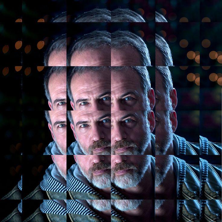 Η φωτογραφία είναι του εικονιζομένου Γιώργου Λοβέρδου. Η επεξεργασία δική μου.