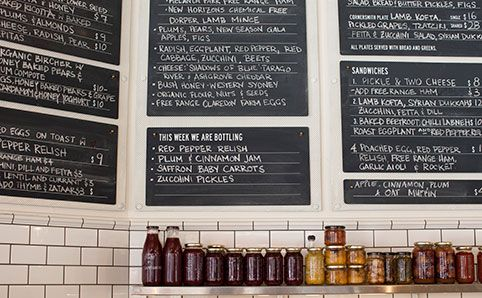 Cornersmith Cafe, Marrickville. Coffee, check. Yummy sambos, check. Closed on Mondays for pickling - huh? Harvest their own Honey - what? Yum!!!!!
