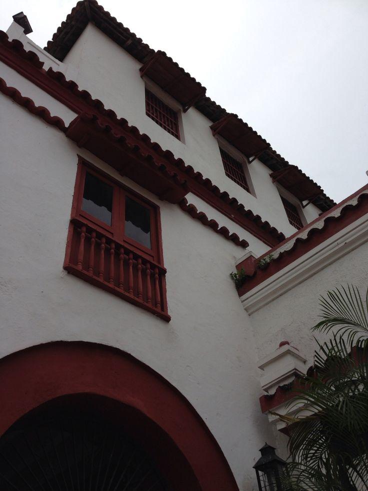 Fachada Claustro de San Francisco. Cartagena de Indias.