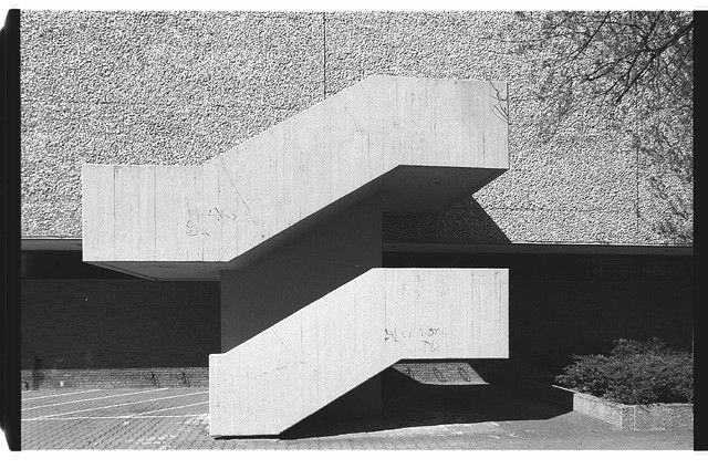 Akademie der Künste, Interbau 1957, Berlin by Werner Düttmann