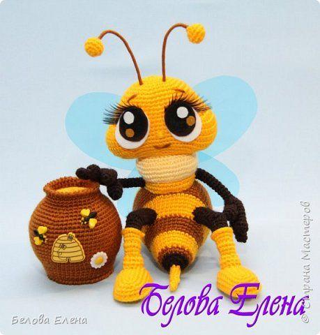 Вязание крючком Пчёлка
