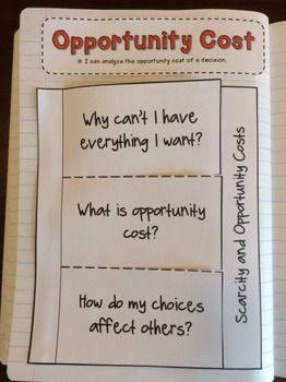 ECONOMICS: OPPORTUNITY COSTS - TeachersPayTeachers.com