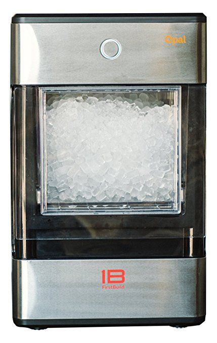 Opal Nugget Ice Maker Affordability - Quality and elegance at a more affordable price point.Operating Temperature Range F-55 to 90 Speed and Efficiency - 15 minutes to first nugget, produces 1 lb an hour and the bin holds 3 lbs Portability - Compact countertop design plugs into any electrical outlet at home and can come with you to your next camping or tail gaiting extravaganza Bluetooth - Schedule your ice making schedule from the convenience of the FirstBuild app