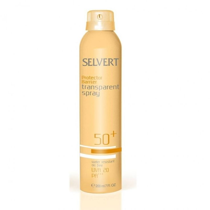 Protector Solar Spray SPF 50+. Selvert Thermal