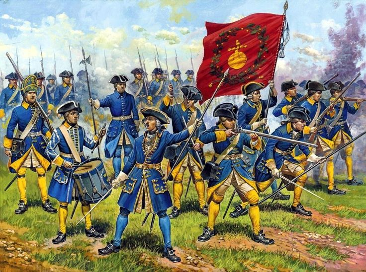 El ejército sueco de Carlos XII Más en www.elgrancapitan.org/foro