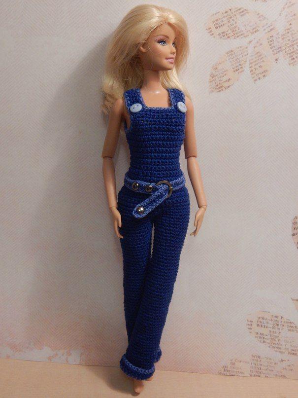Barbie overalls from: ВЯЗАНИЕ. ХВАСТИКИ УЧАСТНИКОВ ГРУППЫ.   86 фотографий