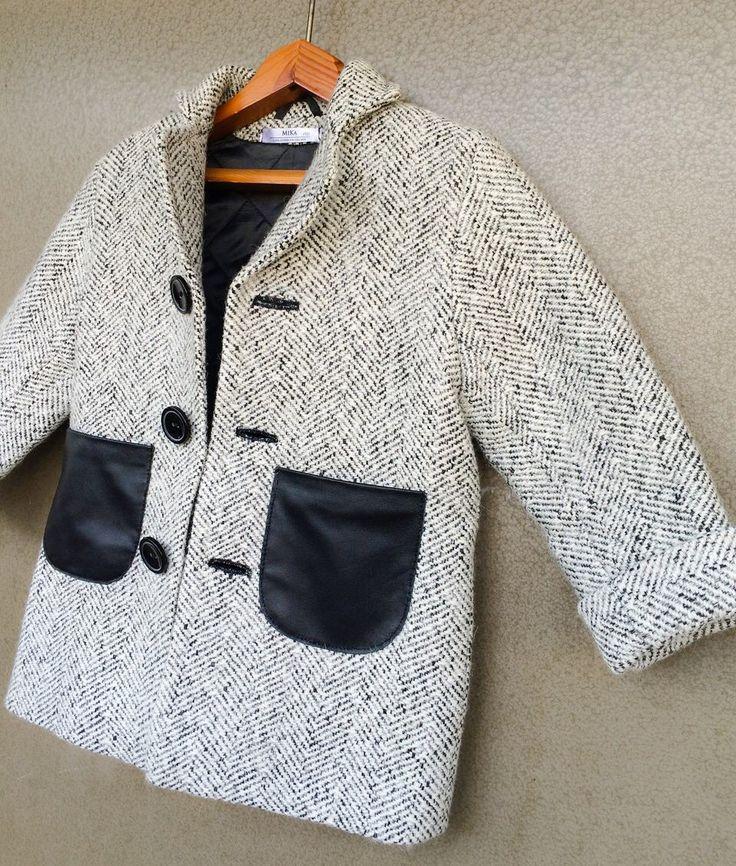 Пальто для мальчика  шерсть.