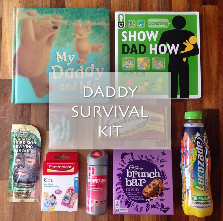 DADDY SURVIVAL KIT Life Unexpected www.lifeunexpected.co.uk A parenting and lifestyle blog.