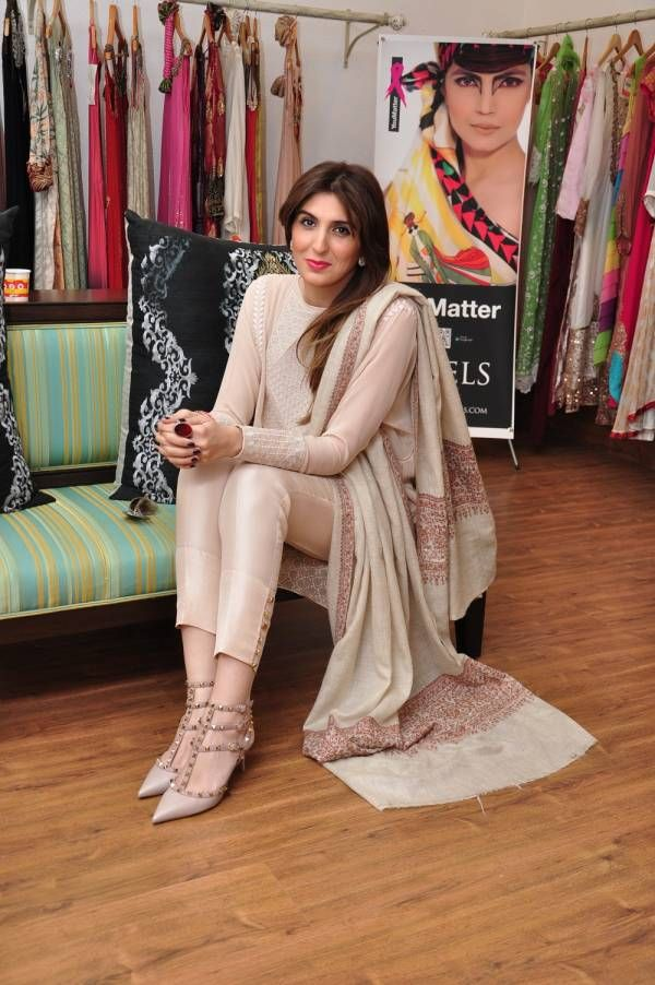 KARACHI: Zahir Rahimtoola's fashion retail store LABELS hosted a bridal showcase of Élan's latest line, The Sultanate Collection. The models wore jewelry by Sherezad.