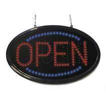 Fresh Mystiglo Oval LED Open Closed Sign