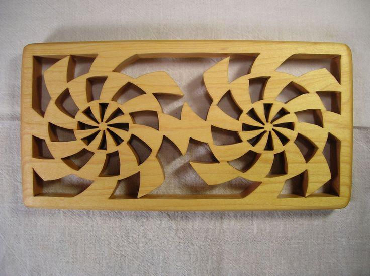 Contemporary Casserole Wooden Trivet T-2  #366 by BOARDSCROLLER on Etsy
