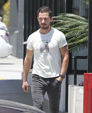 Shia LaBeouf arrested while attending Broadway show | TheCelebrityCafe.com