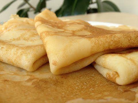 Обалденные Домашние Блины (Блинчики) - Вкусно и Быстро   Tasty Crepes Recipe, ENGLISH SUBTITLES - YouTube