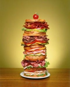 Dagwood Sandwich - named after Dagwood Bumstead