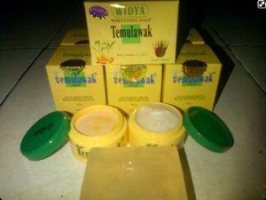 1 Paket Cream Temulawak terdiri dari:      Sabun Temulawak – Widya 115 gr     Cream Siang Temulawak (Day Cream)     Cream Malam Temulawak (Night Cream)