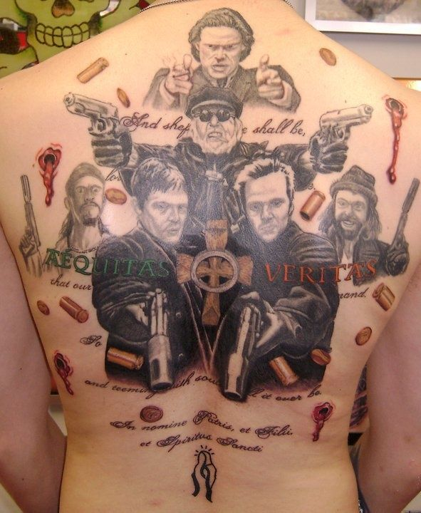 boondock saints tattoos | Boondock Saints Tattoo by Kings Ink. Imho a very good ... | Tattoos
