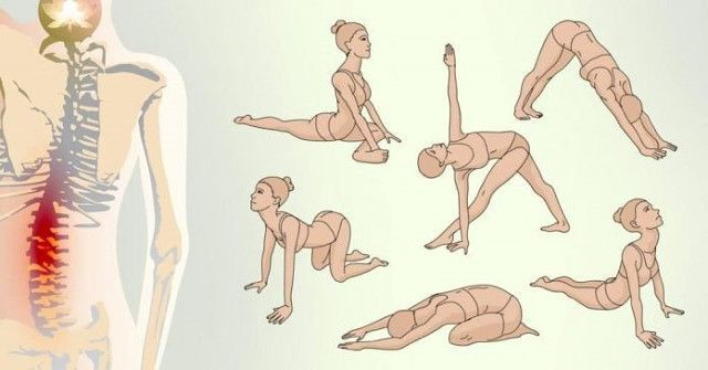 После такой зарядки будто заново на свет рождаешься! Упражнения всего 1 раз в 2 дня. Спина перестала болеть