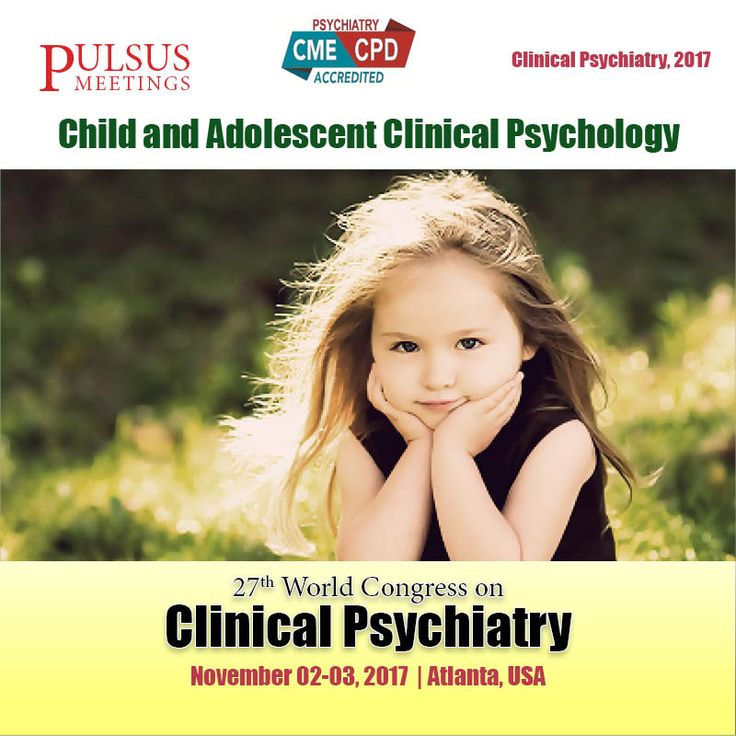 The sixth track of the Clinical psychiatry colloquium is on #Child and Adolescent Clinical Psychology. Psychology of Child includes Psychological child development, mainly Note to the progressment throughout the lifespan. Worldwide there are many psychological conferences .