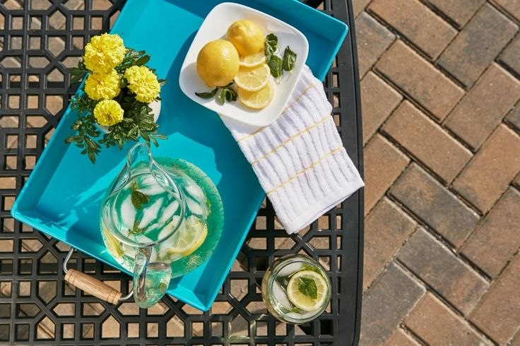 Drink Lemon Water Every Morning.  13 Hacks To Sneak More Water Into Your Day - Toat