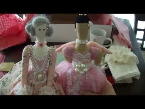 Tilda doll -Tutorial - YouTube