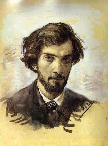 Isaac Levitan, Self Portrait, 1880