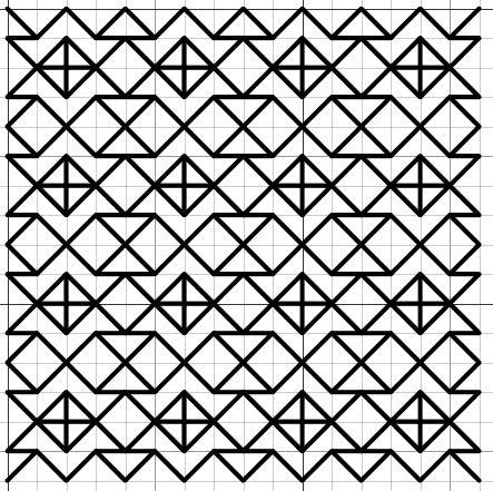 Blackwork Fill Pattern