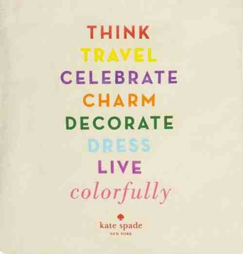 Kate Spade Quotes 41 Best Kate Spade Quotes Images On Pinterest  Kate Spade Quotes