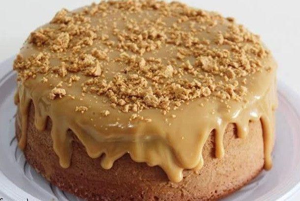 pin em bolos bolo de pacoca