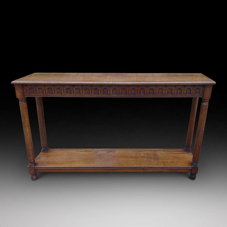 An Oak Console Table | Looking For Antiques - 84 Best Looking For Antiques Tables Images On Pinterest Antique